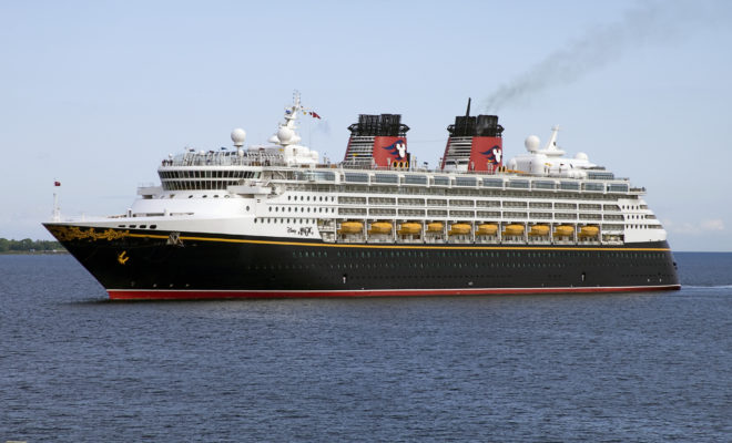 A Disney Cruise From Galveston Leaving The Lone Star