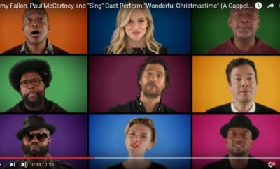 sing stars, jimmy fallon, the roots, Christmas