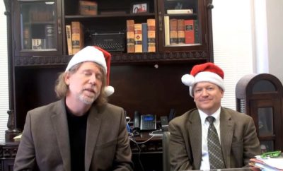 Texas Singing Lawyers Upload 'O Christmas Weed'