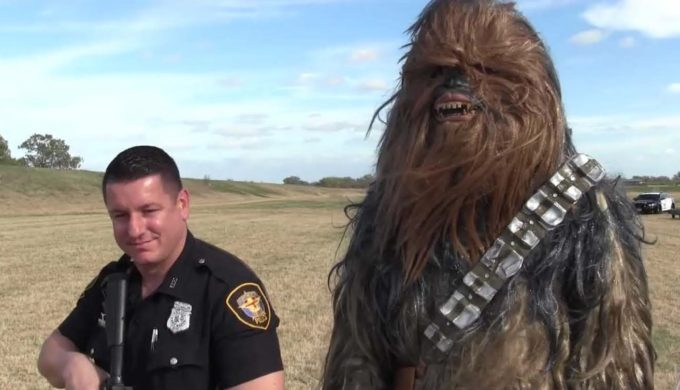 FWPD Unleashes a Rookie…'er Wookie on the Texas Public
