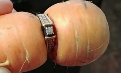 Diamond Engagement Ring Comes Up on a Carrot 13 Years After Loss
