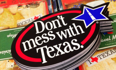 Texans love Don't Mess With Texas