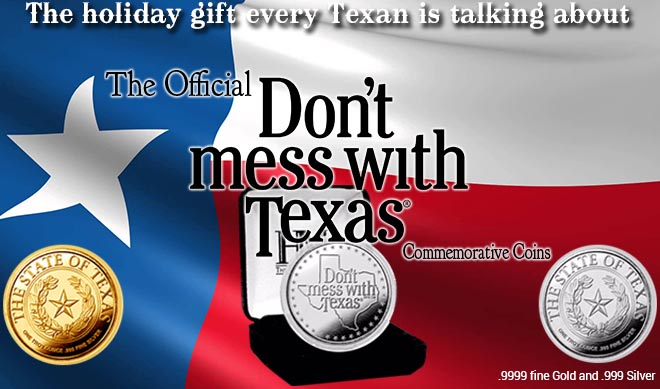Don't mess with Texas Coin