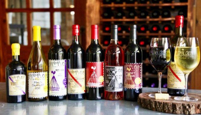 Dry Comal Creek Wine