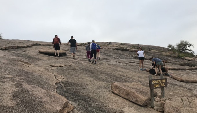Enchanted Rock Summit Climb