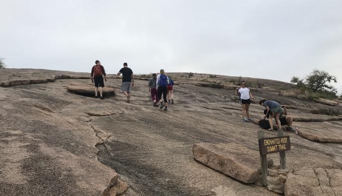 Enchanted Rock Summit Climb