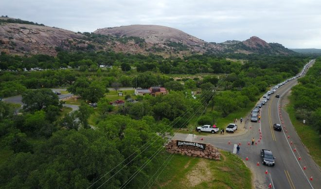 Enchanted Rock Traffic