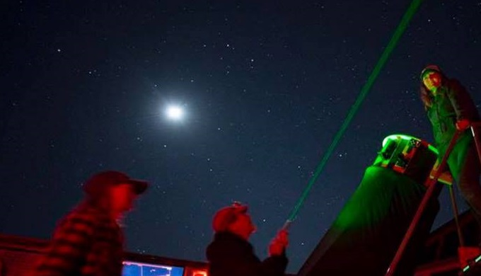 Stargazing at Eagle Eye Observatory in Burnet Texas