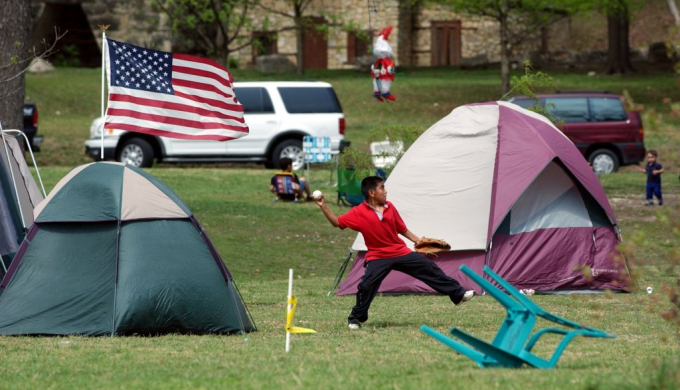 Easter Weekend Camping Tents