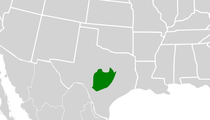 Edwards Plateau in Texas
