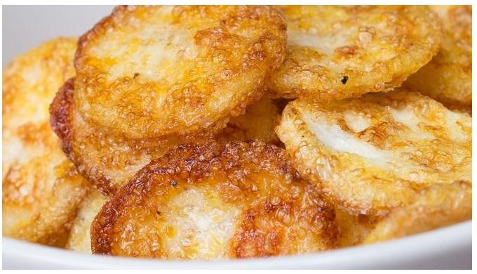 Egg Recipes Parmesan Egg Chips
