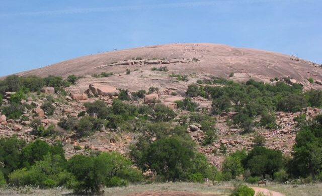 Enchanted Rock tales include one of a priest who fell into the rock and spoke with spirits he found there