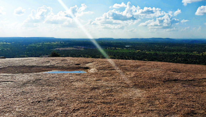 Enchanted Rock, A Mystical Wonderland