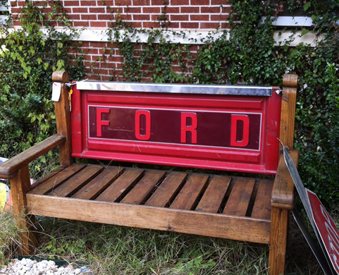 Estate Sale Furniture - Ford Bench