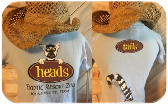 Exotic Resort Zoo Wildlife Park in Johnson City's Tee Shirt