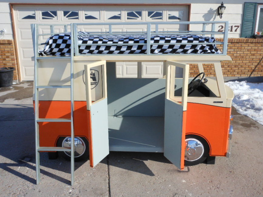 This Vw Microbus Makes Us Want A Bunk Bed