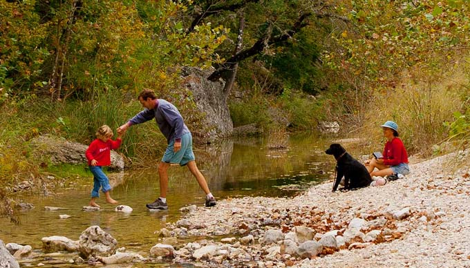 Fall Hiking in The Hill Country