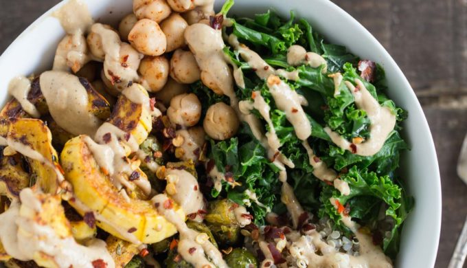 Fall Produce Recipes Autumn Harvest Quinoa Bowl