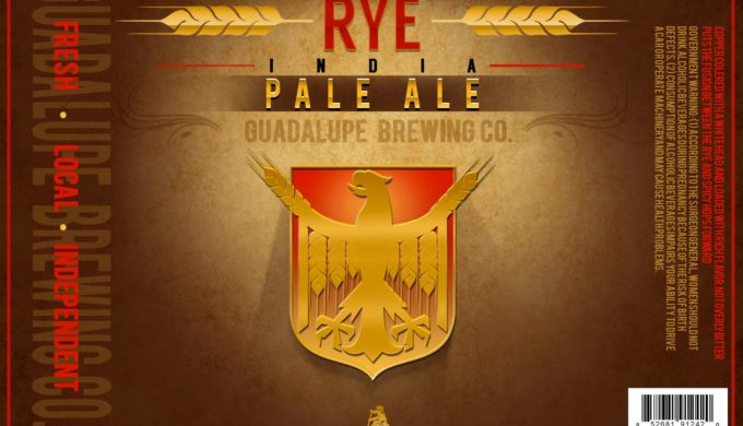 Fall beers Guadalupe Brewing Co Rye India Pale Ale