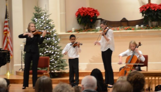 Fredericksburg Community Orchestra Performs