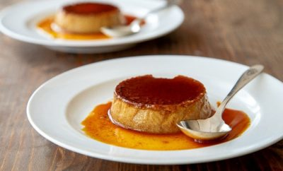 Flan recipes gingerbread flan
