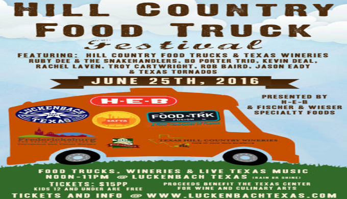 Food Truck Festival Texas Hill Country