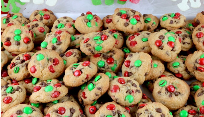 Food gifts M and M cookies