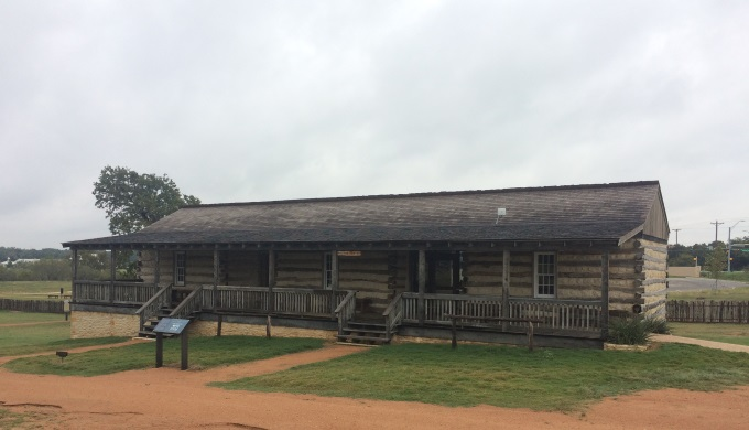 Visitor Center at Fort