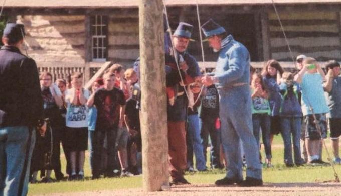 Fort Martin Scott Living History Demonstration