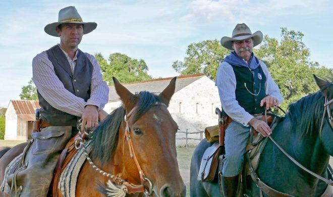 Fort Martin Scott Mounted Ranger reenactors