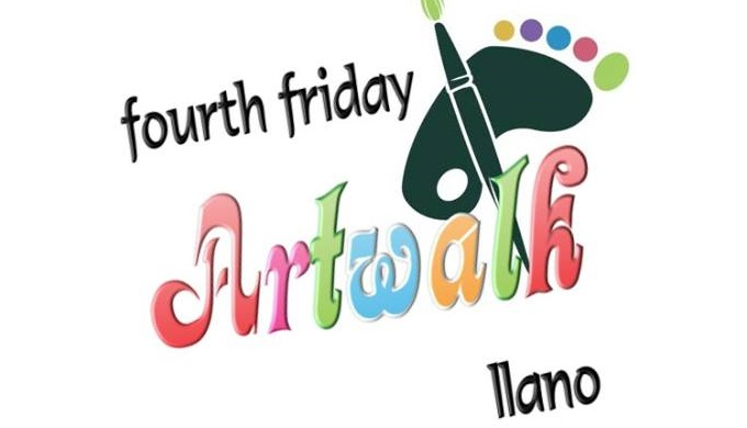 Llano Activities Include the Fourth Friday Llano Art Walk