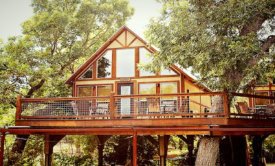 From Tipis to Treehouses, Geronimo Creek Retreat Has it All
