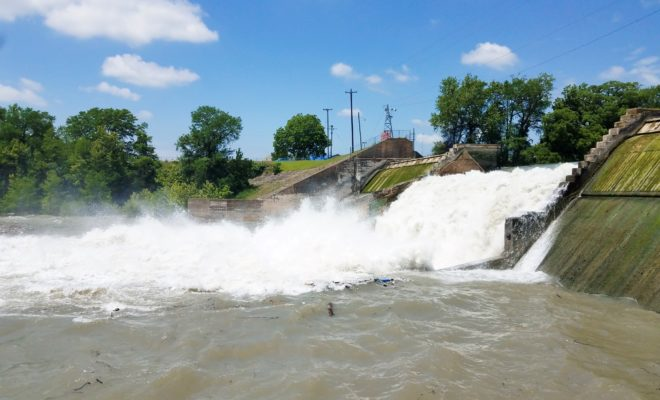 VIDEO: Watch the Spill Gate Collapse at Lake Dunlap Dam