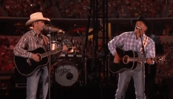 George Strait Brings Son Onstage for One Last Duet [WATCH]