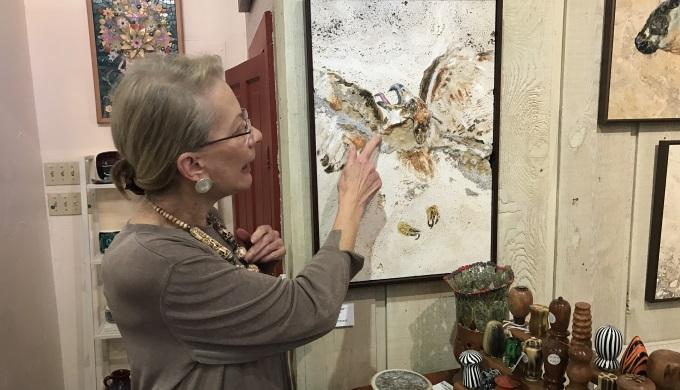 Georgiana explains how the bird was already in the stone