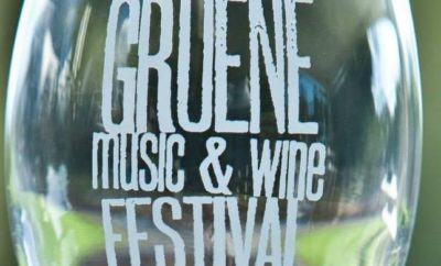 Gruene Music and Wine Festival is one of the food related fall festivals in the Texas Hill Country this year