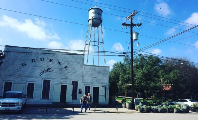 Gruene was once among the Texas Hill Country ghost towns but has come back to life