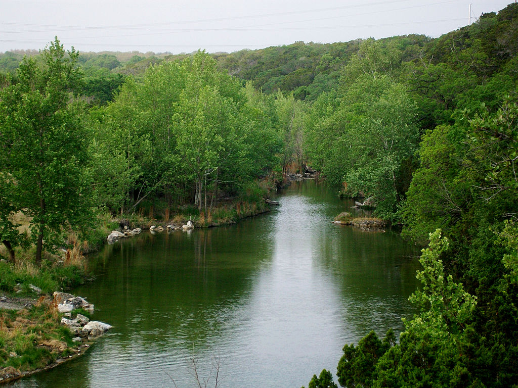 Hole Up On The Guadalupe River