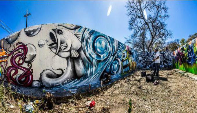 Hope, Artists, Graffiti, Austin, Texas Hill Country
