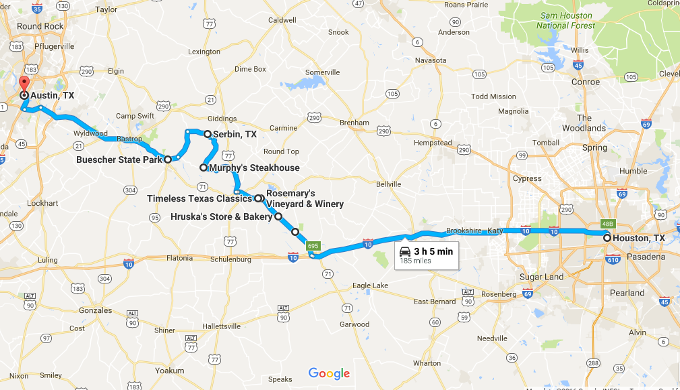 7 Must Do Stops On The Road Between Houston And Austin