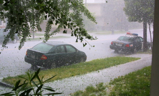 Do You Know How to Stay Safe on Texas Roads in a Hailstorm?