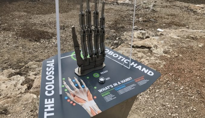 Robotic Hand Controller