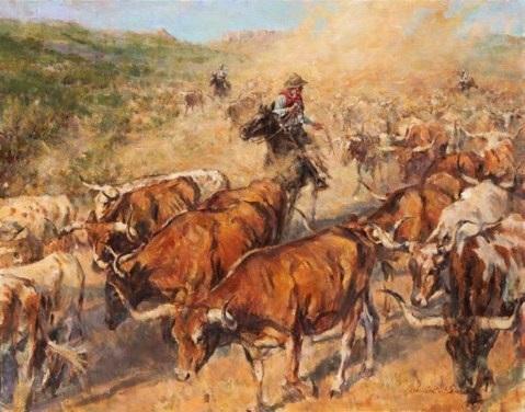 Hanna Cattle Drive