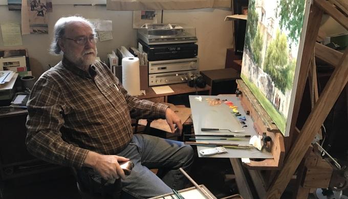 John Austin Hanna talks about painting