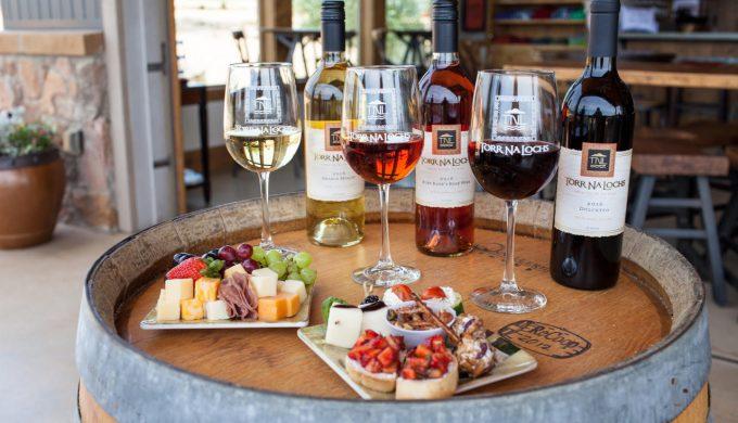 Haute wine, cheese on barrel 2019