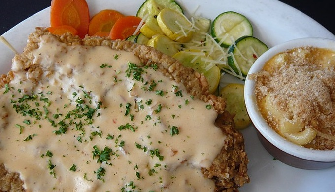 Hill Country Cooking Chicken Fried Steak