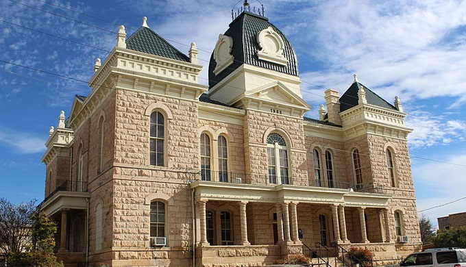 Hill Country Courthouses Crockett County Courthouse