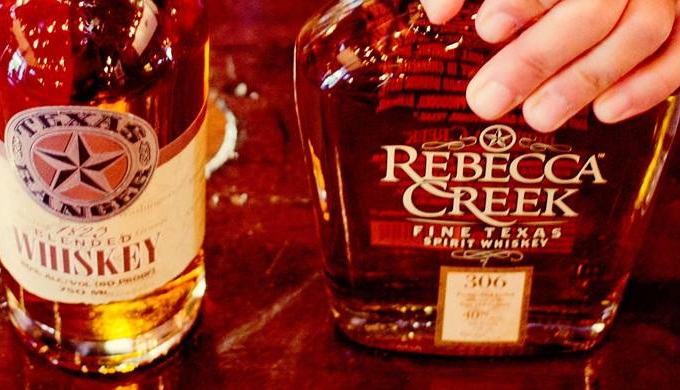Hill Country Distilleries Rebecca Creek Distillery Whiskey and Texas Ranger Whiskey