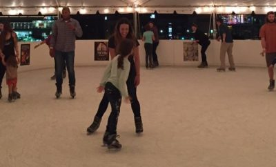 Hill Country Ice Skating at Downtown Whole Foods Market in Austin