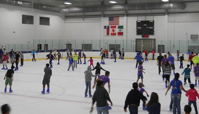 Hill Country Ice Skating at Northwoods in San Antonio